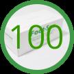 100 Foot-Sox Dispenser Boxes