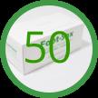 50 Foot-Sox Dispenser Boxes