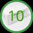 10 Foot-Sox Dispenser Boxes
